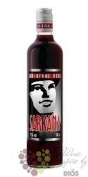 Sarkana Original Red The Cranberry flavored Litvian vodka 21% Vol.    0.70 l