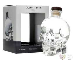 Crystal Head plain triple crystal filtered Canadian vodka by Henderson 40% vol.1.00 l