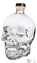 Crystal Head plain triple crystal filtered Canadian vodka by Henderson 40% vol.1.75 l