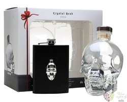 "Crystal Head "" Hip Flask edition "" Canadian vodka by Henderson 40% vol.  0.70 l"