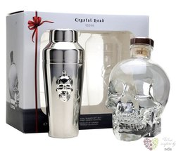 "Crystal Head "" Shaker edition "" Canadian vodka by Henderson 40% vol.  0.70 l"