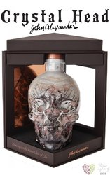 "Crystal Head "" Artist no.1 "" Canadian vodka by Henderson 40% vol.  0.70 l"