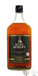 King Robert II blended Scotch whisky by Ian MacLeod 43% vol.  1.50 l
