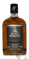 King Robert II blended Scotch whisky by Ian MacLeod 43% vol.  0.50 l