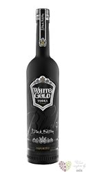 "Beloe Zoloto Black edition "" White Gold "" Russian vodka 40% vol.    0.70 l"