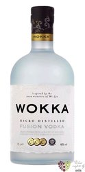 Wokka Saki micro distilled fussion vodka of Japan 40% vol.    0.70 l