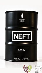 "Neft "" Black barrel "" original Austrian vodka 40% vol.    0.70 l"