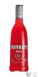 "Royalty "" Red "" premium Dutch vodka 20% vol.    1.00 l"