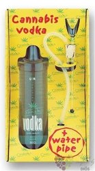 Cannabis watter pipe pack Czech vodka by L´or special drinks 40% vol.  0.50 l