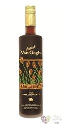 """Vincent Van Gogh """" Rich dark chocolate """" premium flavored Dutch vodka 35% vol. 0.70 l"""