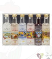 "Vincent Van Gogh "" Works collection "" premium flavored Dutch vodka 35% vol.    6 x 0.05 l"