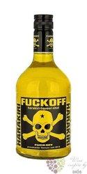 "Fuckoff "" Harakiri "" premium flavored German vodka 15% vol.    0.70 l"