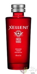 Xellent premium Swiss plain vodka 40% vol.     1.00 l