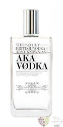 Aka secret British vodka 40% vol.  0.70 l