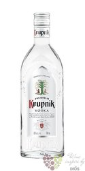 Krupnik premium Polish vodka 40% vol.    0.70 l