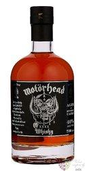 """Motorhead """" XXXX """" single malt whisky by Mackmira 40% vol.  0.50 l"""
