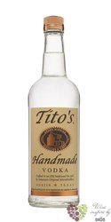 Titos Handmade American vodka Austin Texas 40% vol.  1.00 l