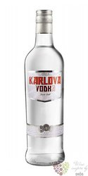 Karlova premium Russian vodka 38%  vol. 0.70 l