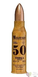 "Debowa "" Military 50 ""premium Polish vodka 40% vol. 0.50 l"