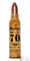 "Debowa "" Military 70 ""premium Polish vodka 40% vol. 0.70  l"