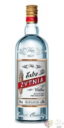 Extra Zytnia luxury Polish Retro vodka by Polmos 40% vol.  1.00 l