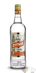 Extra Zytnia luxury Polish Retro vodka by Polmos 40% vol.  0.70 l