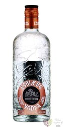 "Esbjaerg "" Copper "" vodka of Norway 40% vol.    0.70 l"