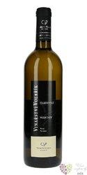 """Chardonnay """" Purmice """" 2019 pozdní sběr vinařství Volařík  0.75 l"""