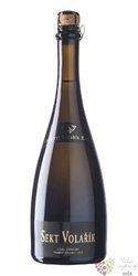 Pěstitelský sekt Frankovka claret 2014 brut extra vinařství Volařík  0.75 l