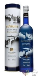 Inchmurrin 18 years old single malt Highland whisky 46% vol.  0.70 l