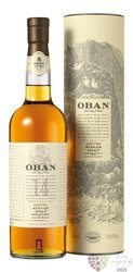 Oban 14 years old single malt Highland whisky 43% vol.  1.00 l
