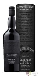 "Oban Bay Reserve "" Game of Thrones ltd. Night´s Watch "" Highland whisky 43% vol.  0.70 l"