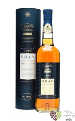 "Oban 1996 "" the Distillers edition "" double matured single malt Highland whisky43% vol.  0.70 l"