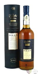"Oban 2000-15 "" the Distillers edition "" double matured single malt Highland whisky 43% vol.  0.70 l"