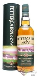 Fettercairn 1824 aged 12 years Single malt Highland whisky 42% vol.    0.70 l