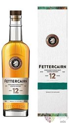 Fettercairn aged 12 years Single malt Highland whisky 40% vol.  0.70 l