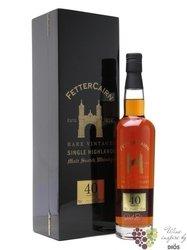 "Fettercairn 1969 "" Rare Vintage "" aged 40 years Single malt Highland whisky 40%Vol.   0.70 l"