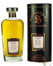 "Fettercairn 1997 "" Signatory vintage "" aged 21 years Single malt Highalnd whisky 46% vol.  0.70 l"