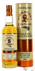 """Fettercairn 2006 """" Signatory Vintage """" Highland whisky 43% vol.  0.70 l"""