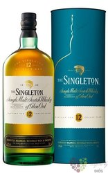 Singleton of Dufftown aged 12 years metal box Speyside single malt whisky 40% vol.  0.70 l