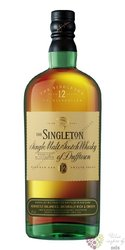 Singleton of Dufftown aged 12 years Speyside single malt whisky 40% vol.    1.00 l