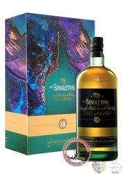 Singleton of Dufftown aged 18 years 2 glass pack single malt Speyside whisky 40% vol.    0.70 l