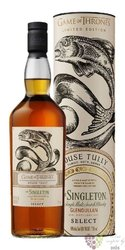 "Singleton of Dufftown "" Game of Thrones ltd. House Tully "" Speyside whisky 40% vol.  0.70 l"