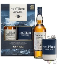 Talisker 10 years old glass pack single malt Skye whisky 45.8% vol.    0.70 l