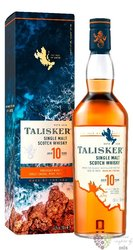 Talisker 10 years gift box old single malt Skye whisky 45.8% vol.    0.20 l