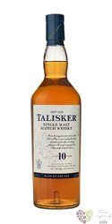 Talisker 10 years old single malt Skye whisky 45.8% vol.    0.20 l