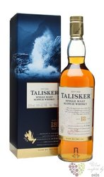 Talisker 18 years old Single malt Island of Skye whisky 45.8% vol.   0.70 l