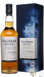 "Talisker "" 57 North "" single malt Island of Skye whisky 57% vol.    0.70 l"