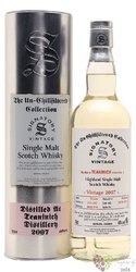 "Teaninich 2007 "" Signatory Unchillfiltered "" Highland whisky 46% vol.  0.70 l"