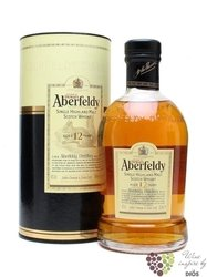 Aberfeldy 12 years old single malt Highlands whisky 40% vol.   1.00 l